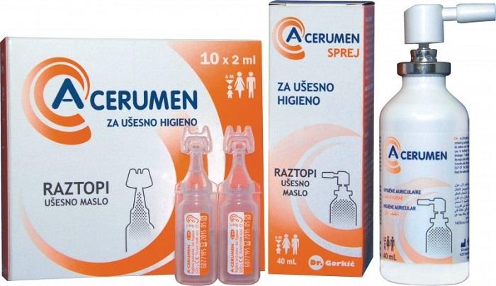 А-церумен | A-cerumen