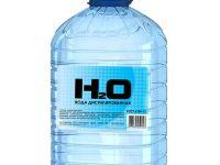 Вода дистиллированная | Aqua destillata