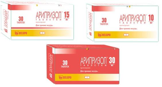 Арипипразол | Aripiprazole