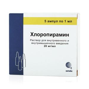 Хлоропирамин | Chloropyramine
