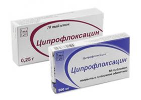 Ципрофлоксацин | Ciprofloxacin