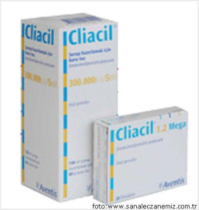 Клиацил   Cliacil