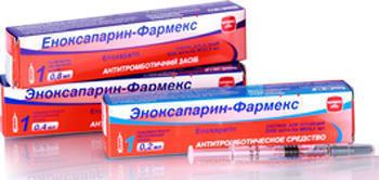 Эноксапарин натрий   Enoxaparin sodium