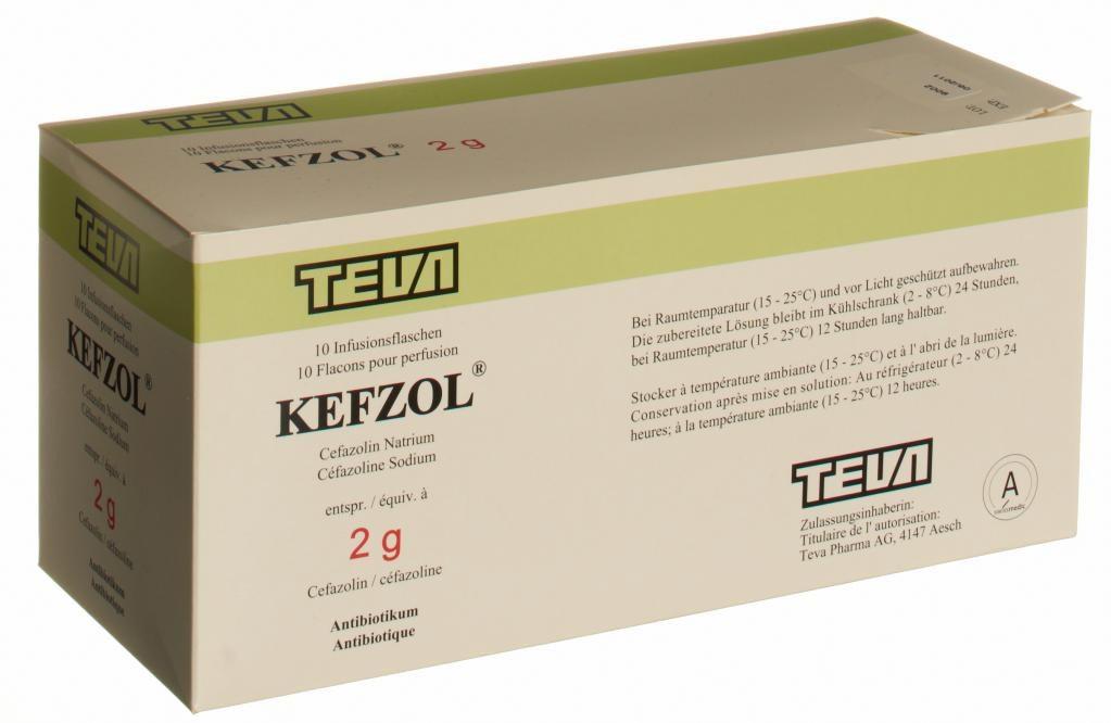 Кефзол | Kefzol