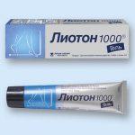 Лиотон 1000 гель | Lioton 1000 gel