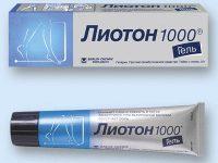 Лиотон 1000 гель   Lioton 1000 gel