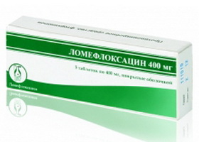 Ломефлоксацин | Lomefloxacin