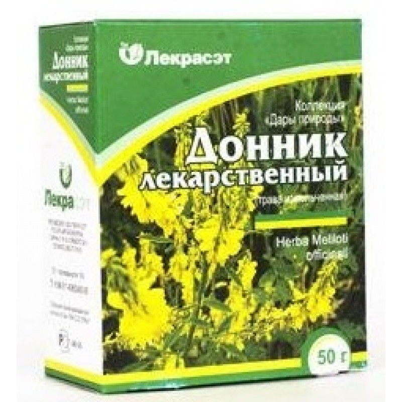Донника трава | Meliloti officinalis herba