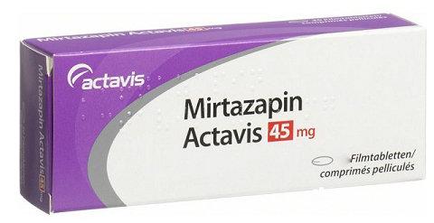Миртазапин | Mirtazapine
