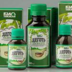 Деготь березовый | Oleum rusci