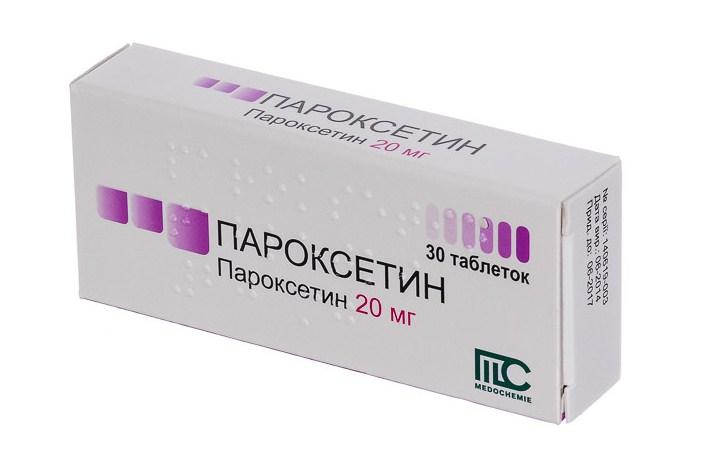 Пароксетин   Paroxetine