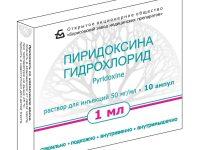 Пиридоксина гидрохлорид | Pyridoxine hydrochloride