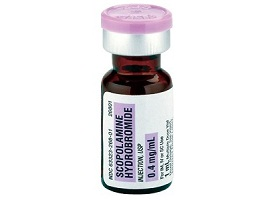 Скополамина гидробромид | Scopolamini hydrobromidum