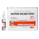 Натрия оксибутират   Sodium oxybutirate