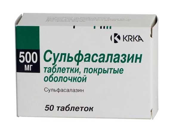 Сульфасалазин | Sulfasalazin
