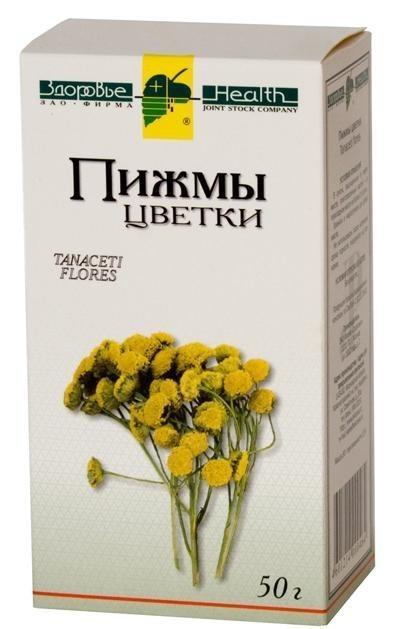 Цветки пижмы обыкновенной   Tanacetum vulgare flores