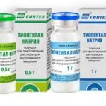 Тиопентала натрий   Thiopental sodium