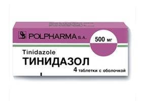 Тинидазол | Tinidazol