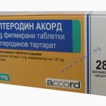 Толтеродин | Tolterodine