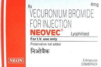 Векурония бромид | Vecuronium bromide