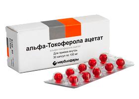 Альфа-Токоферола ацетат   Alfa-Tocopherol Acetate