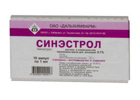 Cинэстрол   Synoestrolum
