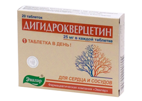 Дигидрокверцетин   Dihydroquercitin