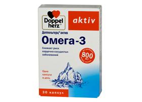 Доппельгерц Актив Омега-3 | Doppelherz Aktiv Omega-3