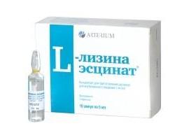 L-Лизина Эсцинат   L-Lysine Aescinat