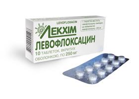 Левофлоксацин | Levofloxacin