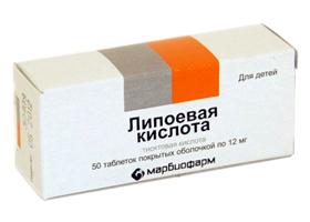 Липоевая кислота | Lipoic acid