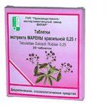 Марена Красильная   Rubiae tinctorum extract