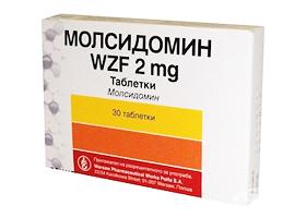 Молсидомин | Molsidominе