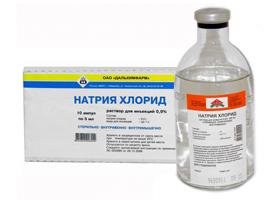 Натрия Хлорид | Natrii chloridum