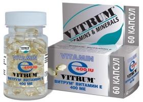 Витрум Витамин Е | Vitrum Vitamin E